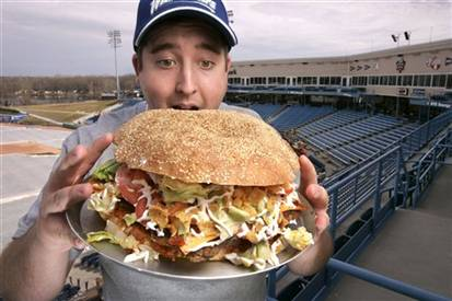 West Michigan Whitecaps Burger Promo