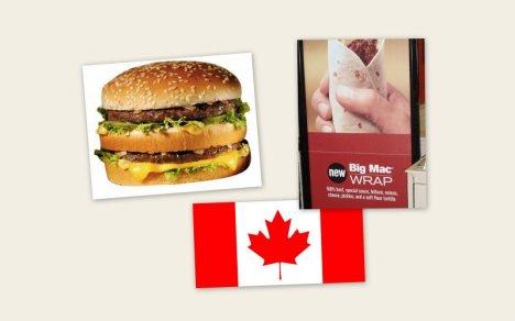 Big Mac Snack Wrap (Canada)