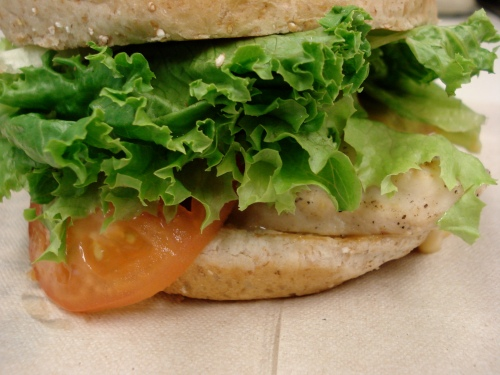 Chargrilled Chicken Sandwich from Chick-fil-A