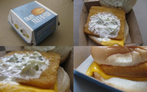 Filet-O-Fish Collage