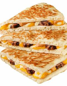 Grande Quesadilla from Taco Bell (steak)