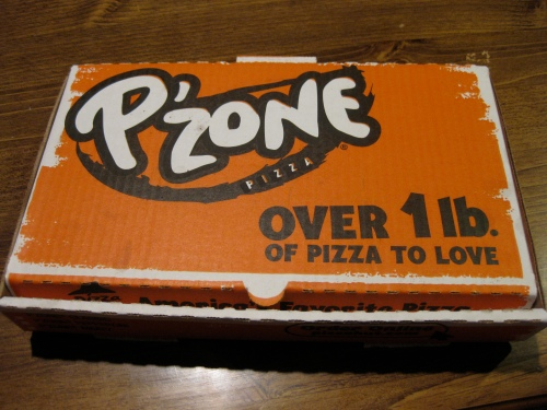 Pizza Hut P'Zone Box