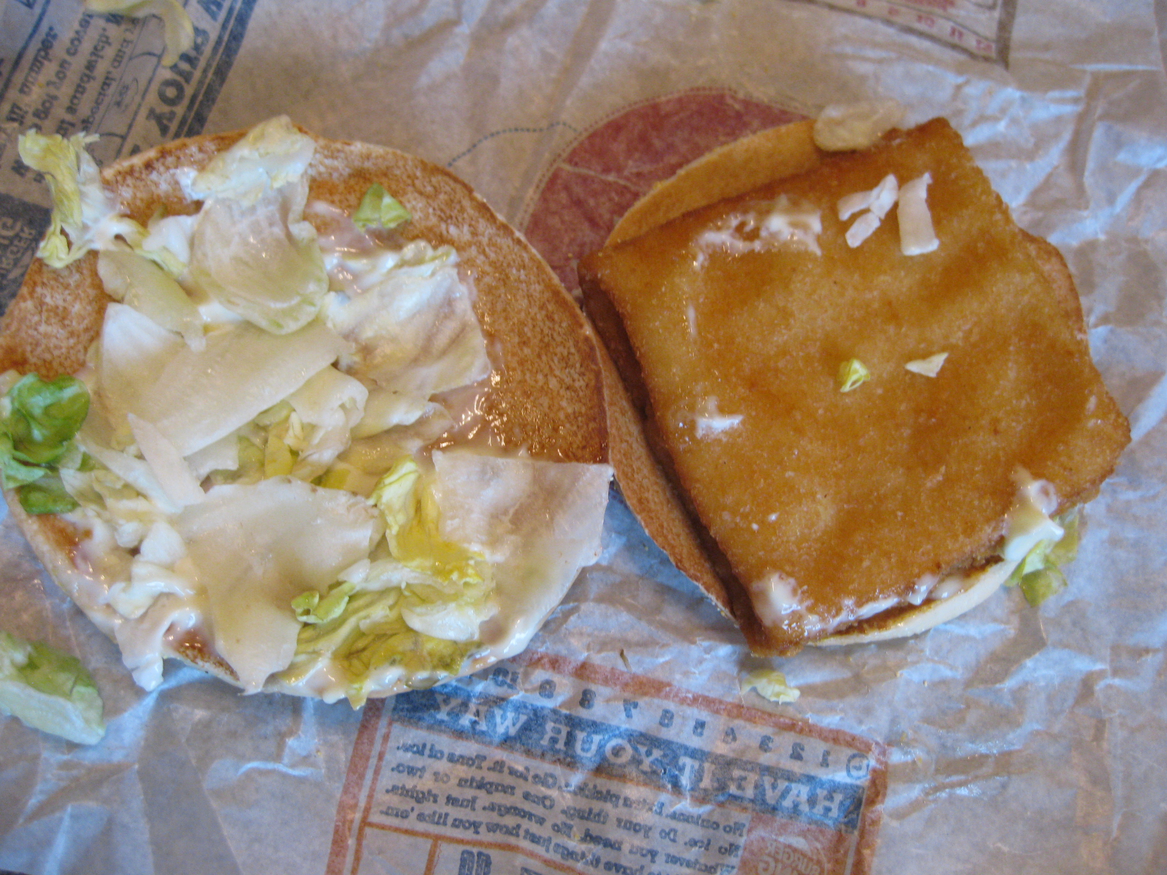 BK Big Fish Sandwich from Burger King 4