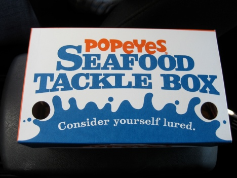 Butterfly Shrimp Tackle Box from Popeye's (box)
