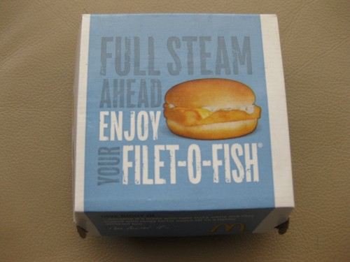 Filet-O-Fish from McDonald's (box)