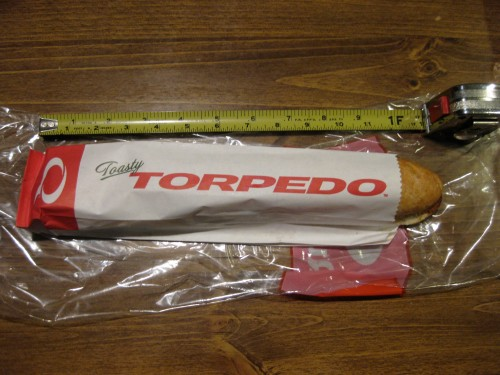 Quizno's Torpedo Packaged