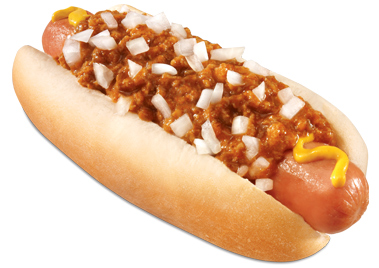 Carl S Jr Jumbo Chili Dog