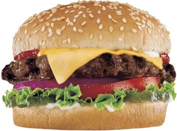 Little Thickburger from Hardee's