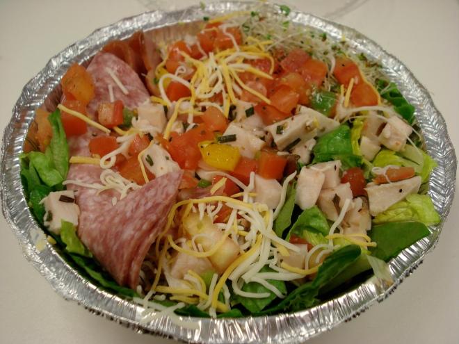 Friscos Cheffy Salad $6.50/5.25