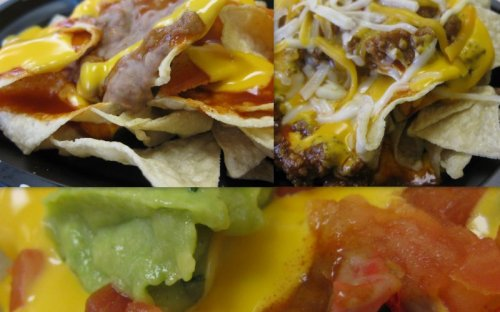 Taco Bell Value Nacho Collage