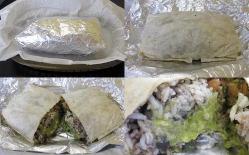 Shredded Beef Burrito
