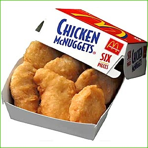 McNuggets from McDonald's