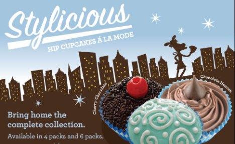 MaggieMoo's Stylicious Ice Cream Cupcakes
