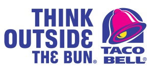 Taco Bell Logo and Tagline