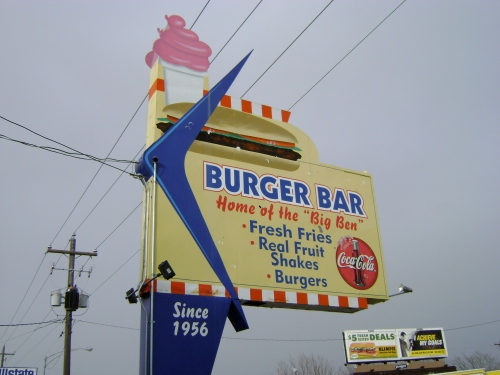 Burger Bar in Roy, Utah
