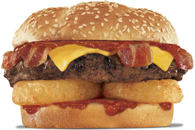 Western Bacon Thickburger from Hardee's