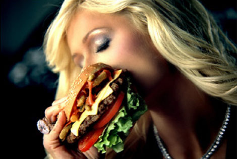Carl's Jr. Paris Hilton Ad