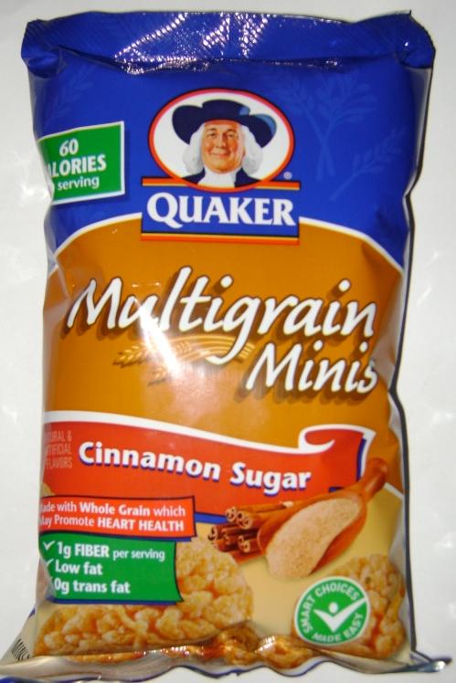 Quaker Cinnamon Sugar Multigrain Minis