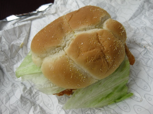 Premium Fish Fillet Sandwich from Wendy's