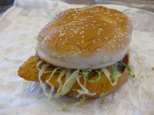 Fish Sandwich from Arby's