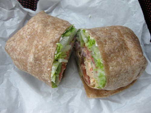 California Chicken Wrap from Einstein Bros. Bagels