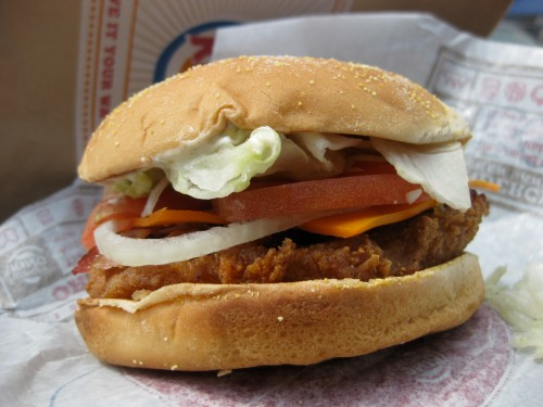 Tendercrisp Bacon Cheddar Ranch Sandwich from Burger King