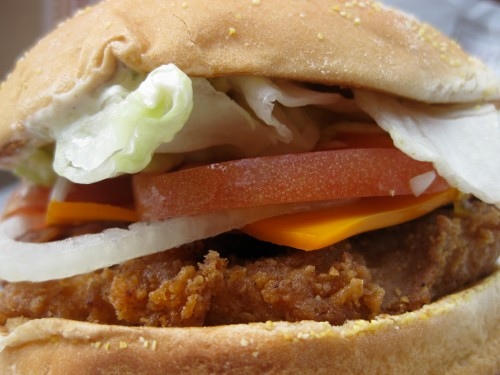 Tendercrisp Bacon Cheddar Ranch Sandwich from Burger King (close)