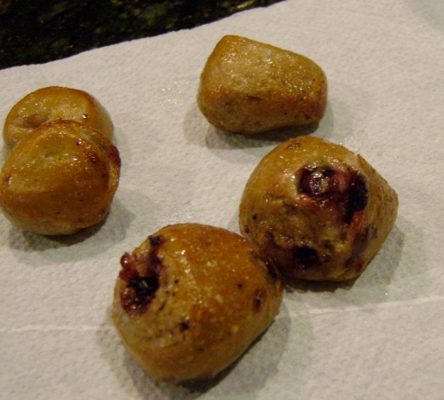Blueberry Bagel Poppers (4)